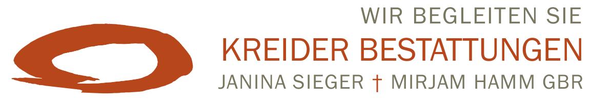 Kreider Bestattungen - wir begleiten Sie. Janina Sieger und Mirjam Hamm
